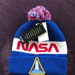 Kids NASA beanie NWT